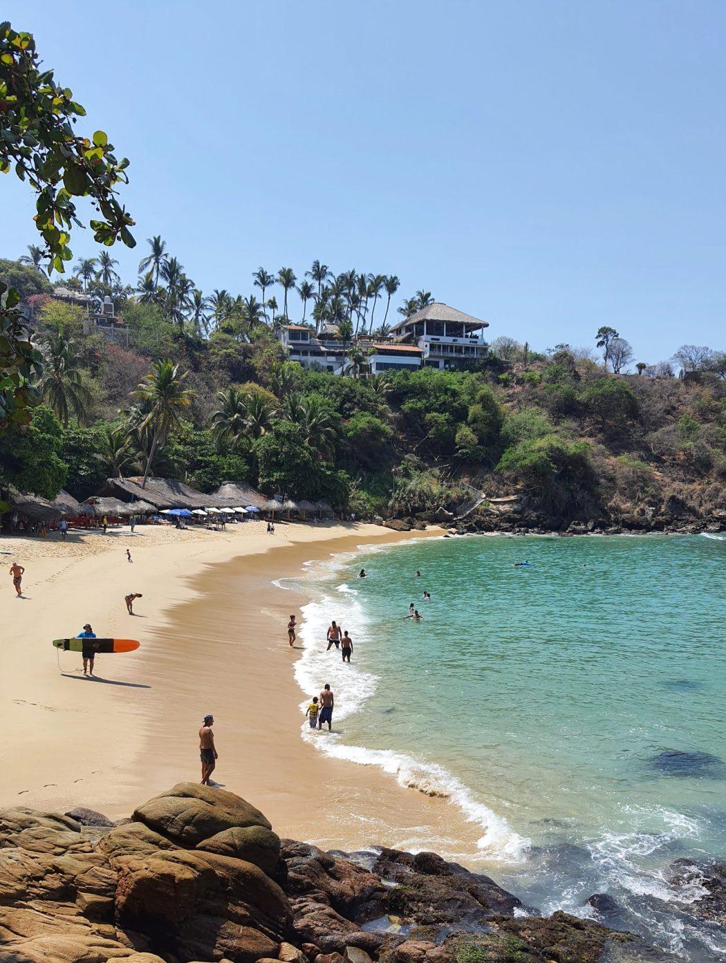Playa Carrizillio, Puerto Escondido, Oaxaca, Mexico