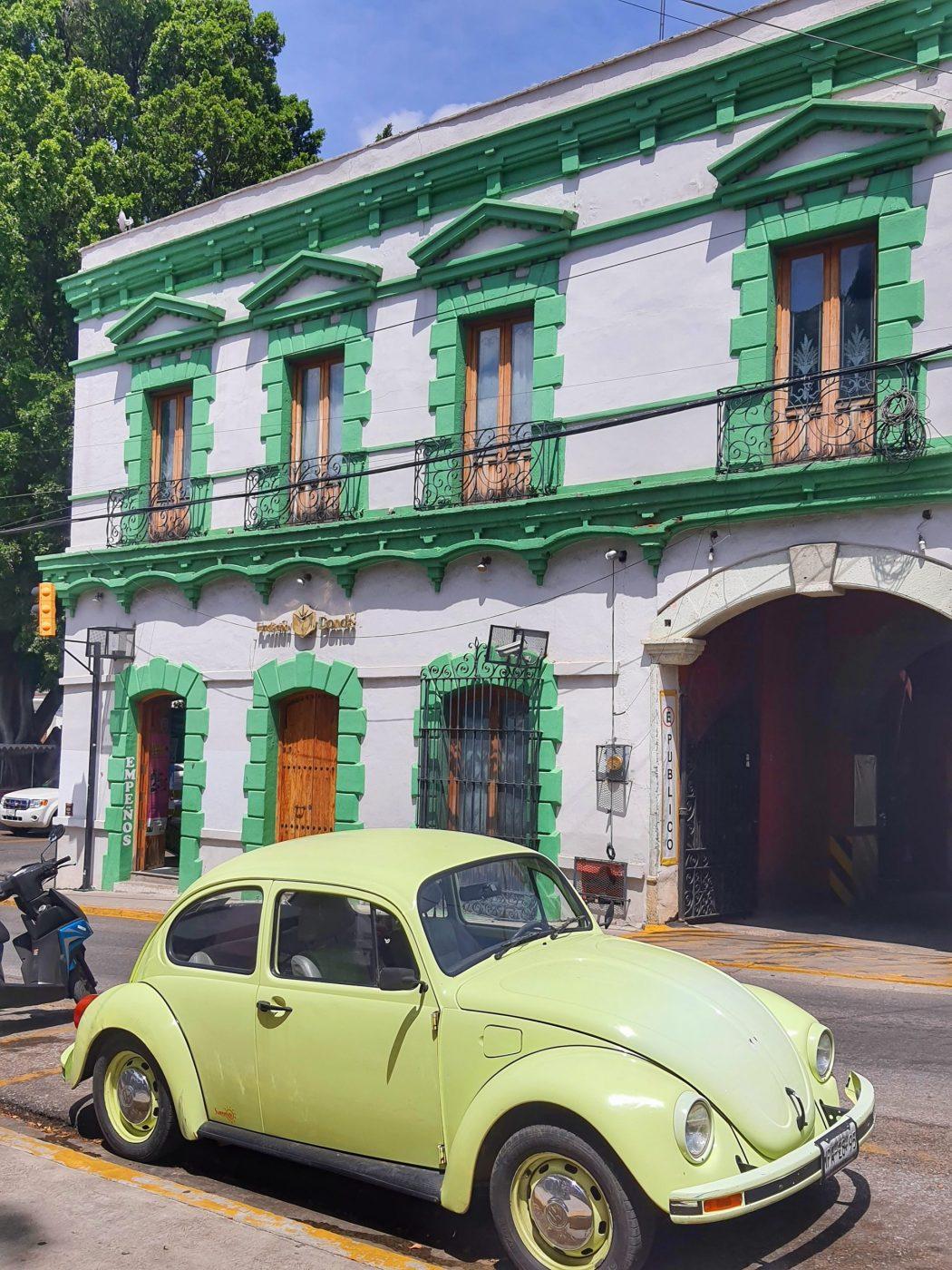 VW beetle oaxaca mexico
