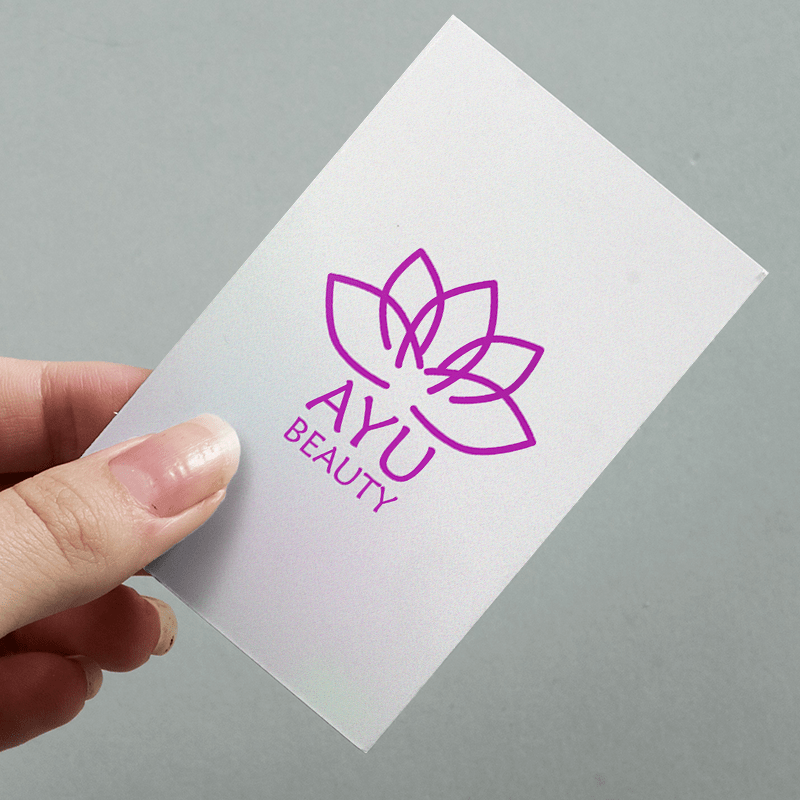Pearlescent Business Card
