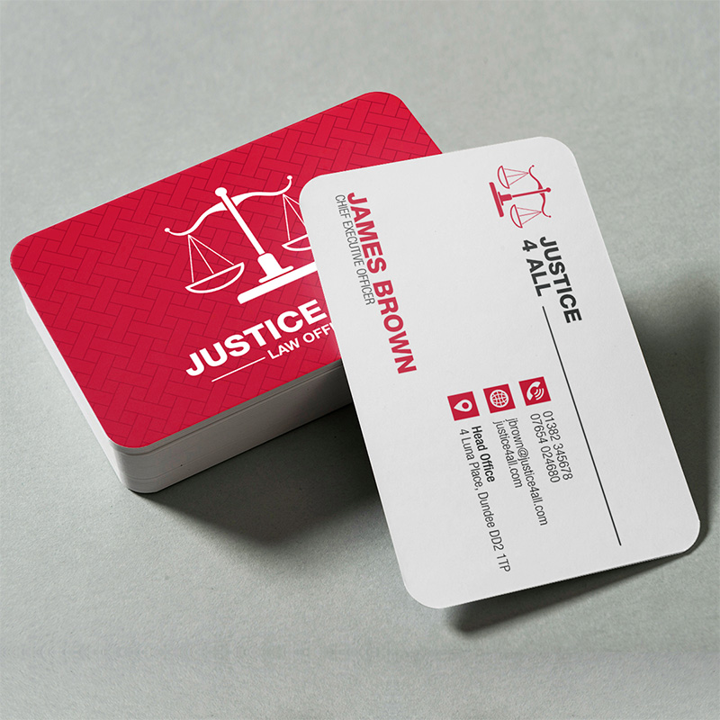 Gloss Rounded Business Card