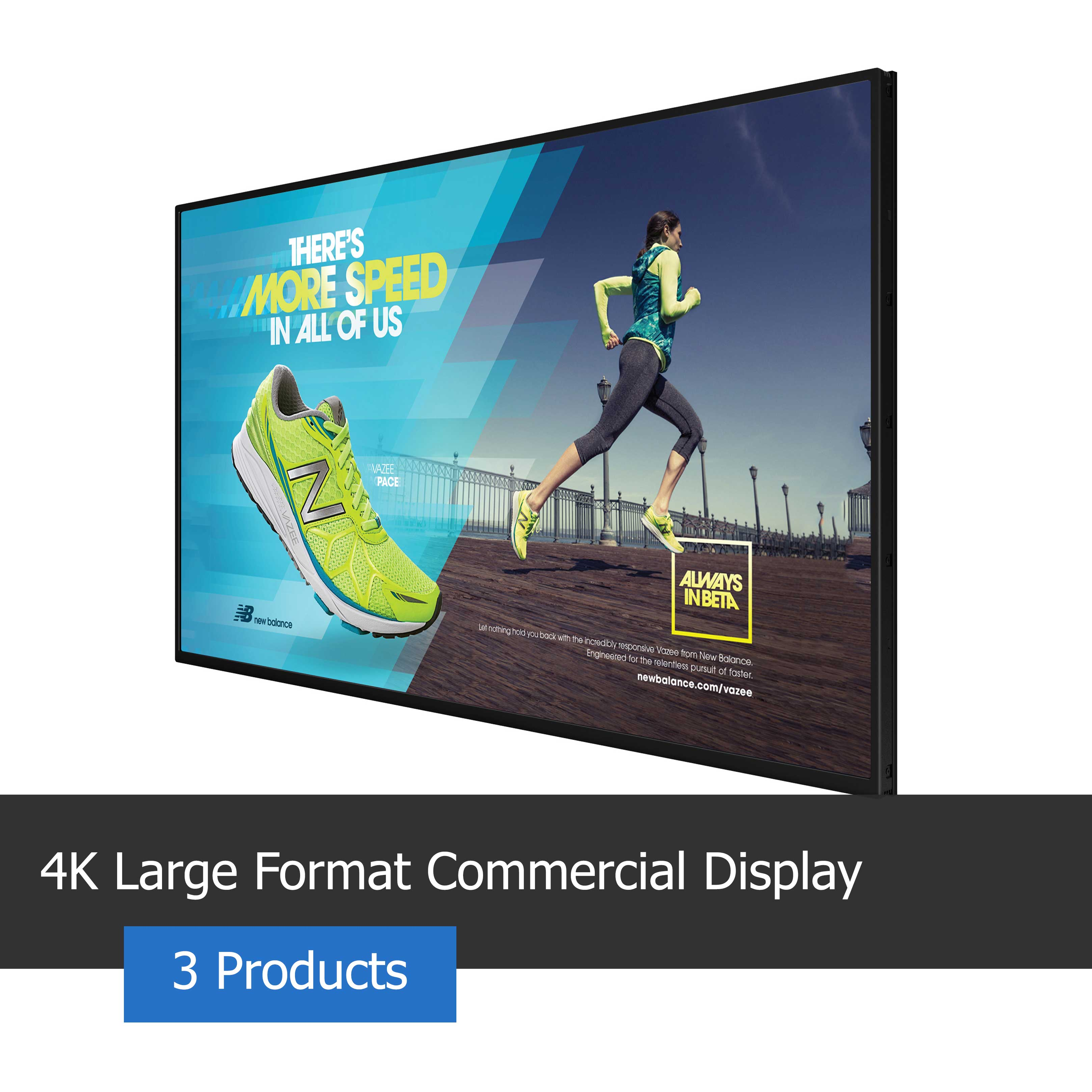 4K Large Format Commercial Display