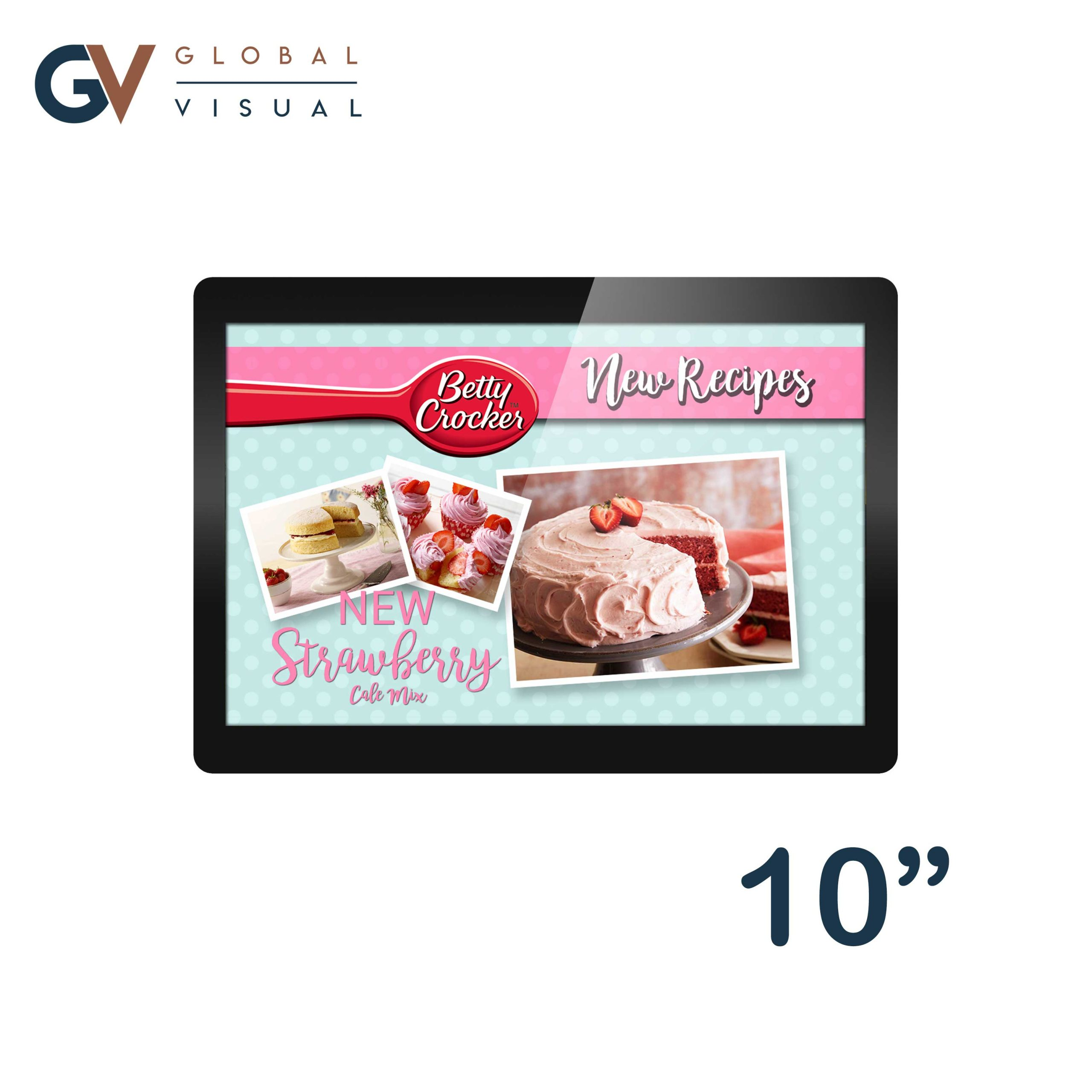10 inch POS Android Displays