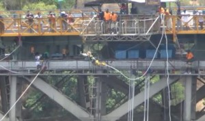 bungee jump Zambezi River