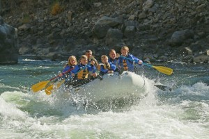 whitewater rafting montana