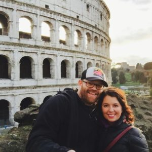 dave and ayngelina in Rome