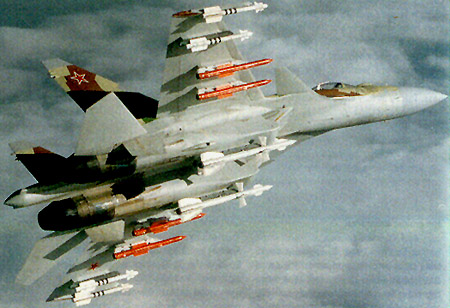 SU-35 russo (http://www.globalaircraft.org)