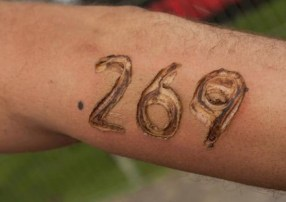 Animal rights activists plan to brand themselves with the number 269.
