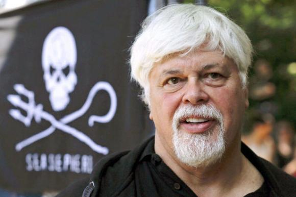 Markus Schreiber/AP file photo Paul Watson, founder and president of the animal rights group Sea Shepherd Conservation, has resigned in order to comply with a U.S. court order. Photo Credit: Markus Schreiber, AP File Photo