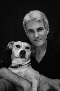 Frank Bruynbroek With Dog
