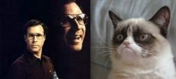 Grumpy Cat And Will Ferrell