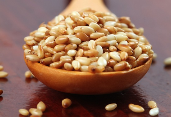 Sesame seeds will keep your bones strong. Photo Credit: Shutterstock
