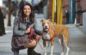 Rachael Ray teams up with the ASPCA for the $100K Challenge. Photo Credit: ohmidog.com