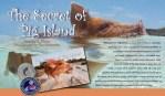 Secret of Pig Island Children's Book Paddling Pigs