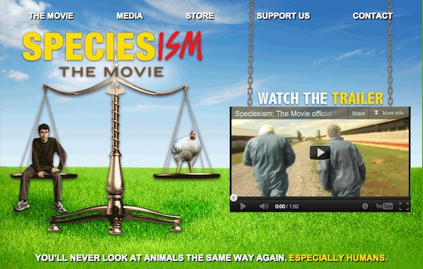 When making the documentary, filmmaker Mark Devries always knew he was on to something that intrigued him, but never knew the overwhelming response he'd receive from viewers. Photo Credit: Speciesism: The Movie