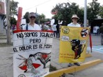 Anti Bullfighting Protest
