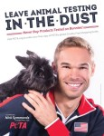 Nick Symmonds fights cosmetic testing on animals in new PETA campaign.