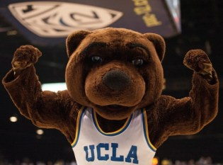 The majority of college campuses, like UCLA, respect animal rights by vowing to use humans in furry suits as alternatives to live animal mascots. Photo Credit: wordpress.com