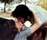 elvis kissing priscilla on horse elvisblog.net