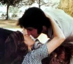 "Elvis Presley's passion for horses inspired Priscilla to support HSUS' campaign to save abused Tennessee Walking Horses.  ""The King"" bought his former wife a four-year old black Quarter Horse named Domino./Photo credit: Elvisblog.net"