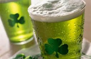 1% of all the beer in the world is consumed on St. Patrick's Day alone./ Photo credit: Examiner.com