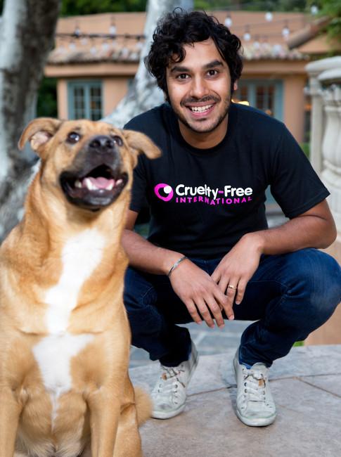Raj Koothrapali, Kunal, Big Bang Theory, Cruelty Free International