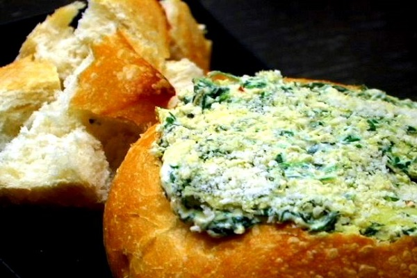This spinach artichoke dip is creamy and delicious. (VEGAN/VEGETARIAN RECIPES)