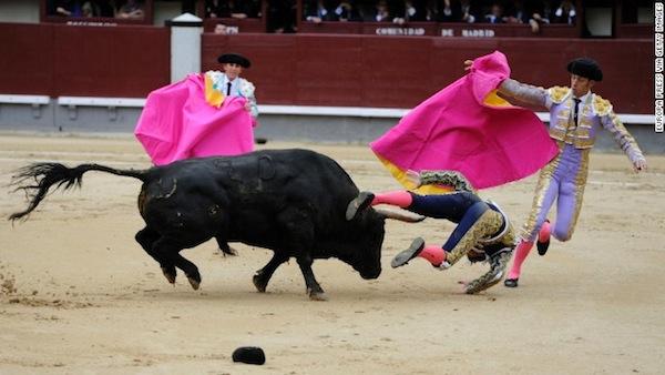 Bull fighting, Madrid, Spain, Matador