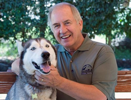 Mike Arms has placed over 9 million pets in homes since 1999. Photo credit: Animalcenter.org