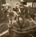 President Nixon and his dogs