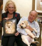 first couple to clone dog labrador sir lancelot