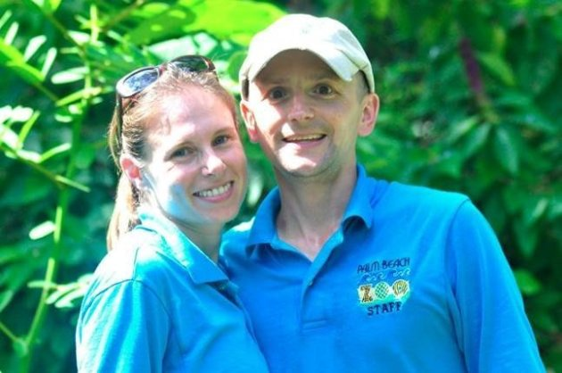 Stacey Konwiser with her husband, Jeremy Konwiser. Photo Credit: http://fox13now.com/