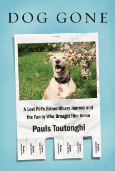 "The true story is told in ""Dog Gone: A Lost Pet's Extraordinary Journey and the Family Who Brought Him Home"" by Pauls Toutonghi, who is Marshall's brother-in-law. Photo Credit: New York Post"