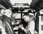 carrier pigeon inside US aircraft