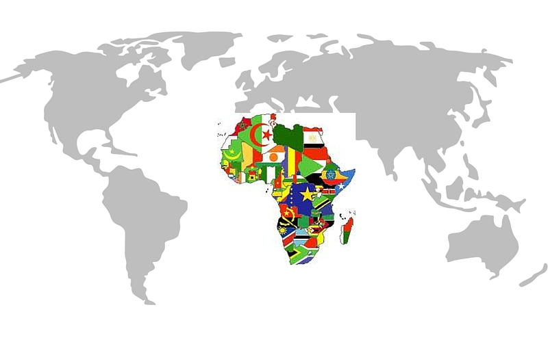 Africa on world map yelomphonecompany africa gumiabroncs Image collections
