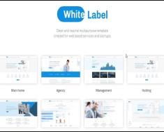 white label web templates