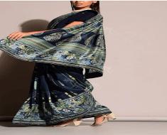 vasansi printed designer sarees