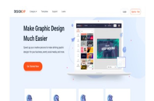 DesignCap allows you to complete an image design in 5 minutes