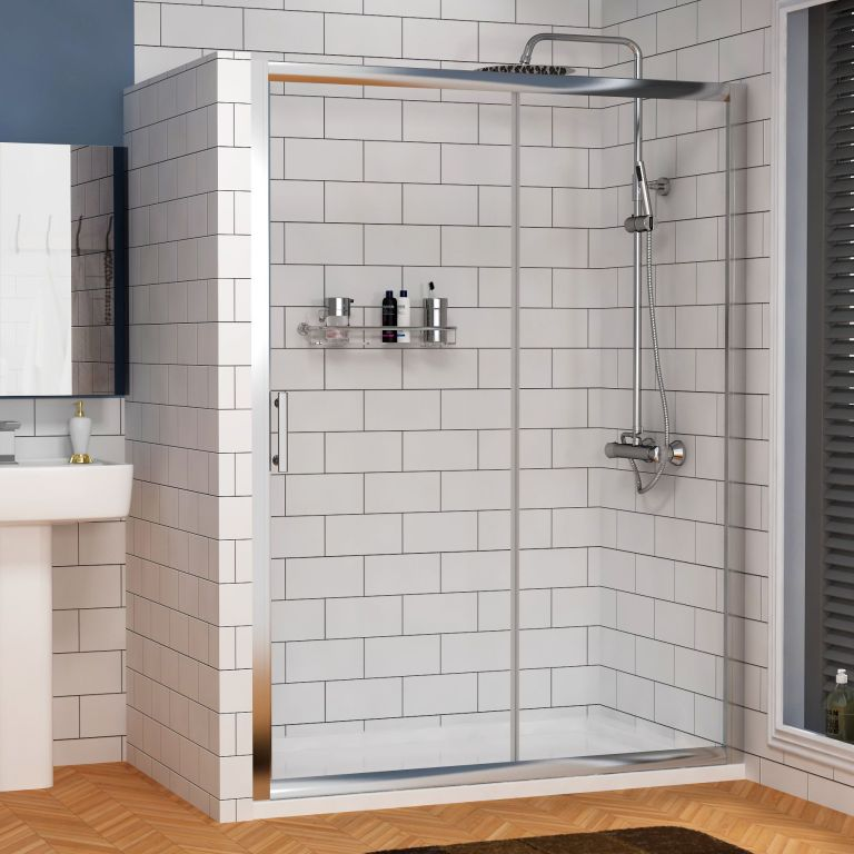 Find sleek and stylish walk in shower trays and enclosures in the UK