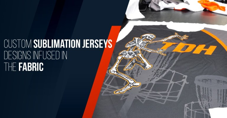 Custom Sublimation Jerseys Designs Infused in the Fabric