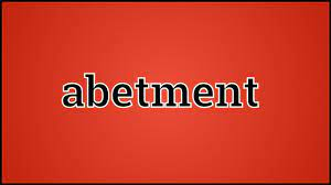 abetment meaning