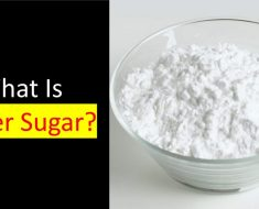 what is castor sugar