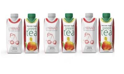 Lemonace tea green tea Macoun Apple