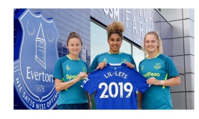 Lil-Lets and Everton Ladies Football Club team up to bring period awareness onto the pitch