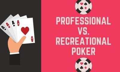 Professional Vs Recreational Poker