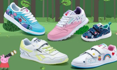 Reebok Releases Second Peppa Pig Kids Collection