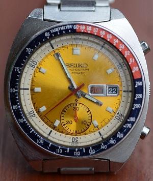 Seiko Automatic-Chronograph