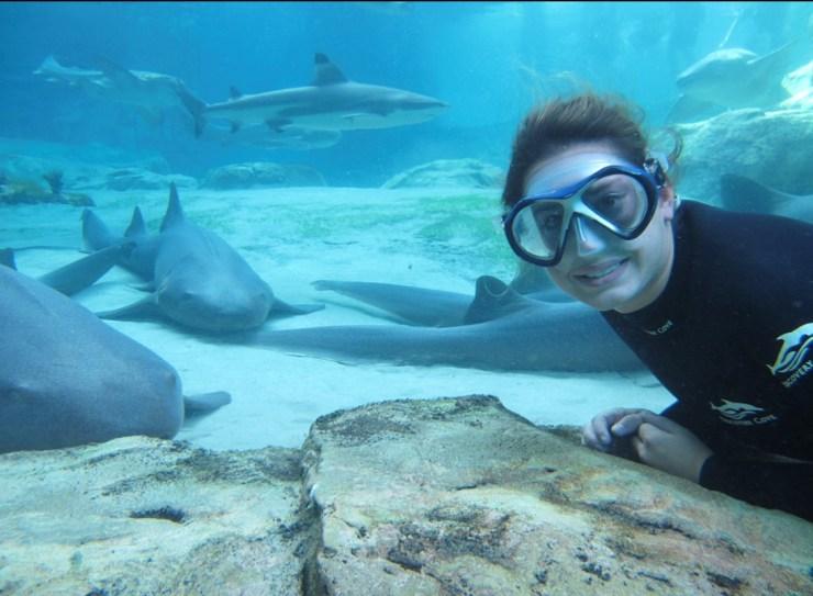 Adrienne Gutierrez underwater (1)