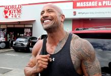 The Rock Dwayne Johnson Gold Coast