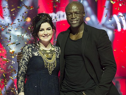 Karise Eden and seal