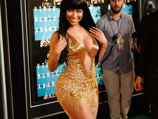 Nicki Minaj attends the 2015 MTV Video Music Awards. Picture: Getty Source: Getty Images
